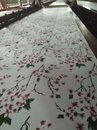 proses print batik seragam - pak sigit 085728065344